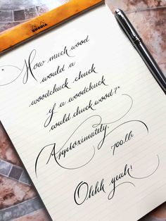 20 Times People Found Some Truly Perfect Handwriting Examples That Were Too Good Not To Share Handwriting Examples, Calligraphy Handwriting, Penmanship, Handwriting Styles, Handwriting Worksheets, Calligraphy Fonts Alphabet, Copperplate Calligraphy, Perfect Handwriting, Beautiful Handwriting