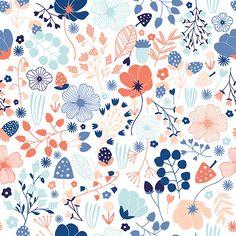 Pattern design showcase part 2 – Module 3 (April 2015 class) Pattern Drawing, Pattern Paper, Pattern Art, Motif Floral, Floral Prints, Textures Patterns, Print Patterns, Floral Patterns, Showcase Design