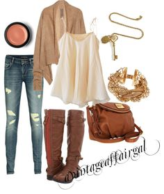 """Cozy Fall Classic's"" by avintageaffairgal on Polyvore"