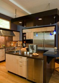 contemporary kitchen design  Robin Rigby Fisher design - Portland, OR