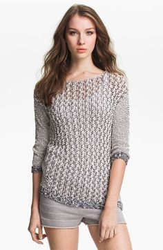 Vince Camuto Yarn Sweater with sequins