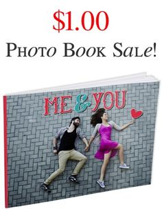 $1.00 Softcover 4X6 Photo Book Sale! {+ s/h} - capture some favorite memories, or stash one away as a thrifty gift for Mother's Day, Father's Day, Graduation or a Teacher gift!!
