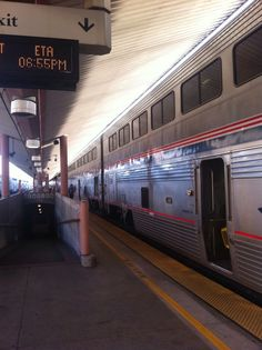 Amtrak Train Numbet 4 The Southwest Chief in Los Angeles, CA