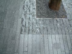 More London - Stone Pave Tree Pit Detail Edging