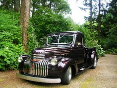 1946 Chevy Truck, Classic Chevy Trucks, Dodge Trucks, Chevrolet Trucks, Pickup Trucks, Classic Cars, Antique Trucks, Vintage Trucks, Hot Rod Trucks