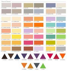 Resultado de imagen para pintura para muro viniltex tabaco pintuco decoraciones de casa - Muestrario de colores para pintar paredes ...