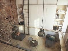 ♥烏克蘭 10 坪 Loft 公寓改造