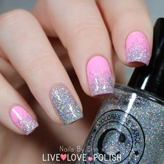 "Colores de Carol ""Bling"" from www.livelovepolish.com <3 Click for review!"
