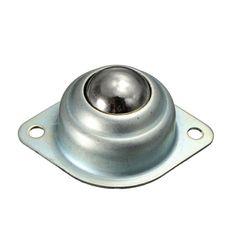 25.Rodamiento de transferencia de 4mm unidad transportadora rueda de rodillo de bola montada 70x50x30mm rodamiento