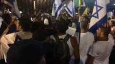 """▶ Israelis in Tel Aviv 26.7.2014:  """"Gaza is a graveyard,"""" sing joyful Israeli youths:  """"There's no school tomorrow,there's no children left in Gaza! Oleh!"""" - // This video shows an Israeli mob actually singing in celebration of children's deaths in the style of a soccer fans' song: """"In Gaza there's no school tommorow, No children are left there, Olé, olé, olé-olé-olé."""" The video of the 26 July event in Tel Aviv was published by Israeli journalist Haim Har-Zahav."""