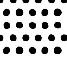 jumbo black dots fitted changing pad cover // made-to-order by iviebaby on Etsy https://www.etsy.com/listing/232110892/jumbo-black-dots-fitted-changing-pad