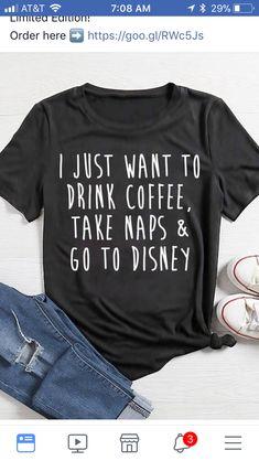 Disney Dream, Cute Disney, Disney Style, Disney Shirts, Disney Outfits, Disney Clothes, Disney Fashion, T Shirt Designs, Disneyland Trip