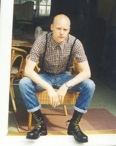 Skinhead / Boot / Bondage/ Rubber obsessed Skinhead Men, Skinhead Boots, Skinhead Reggae, Skinhead Fashion, Skinhead Clothing, Skinhead Style, Dr. Martens, Punk Guys, Skin Head