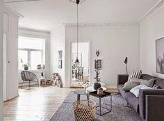 Inspiración Deco: Estilo nórdico en blanco y negro   Decorar tu casa es facilisimo.com