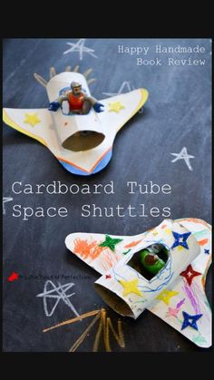 Craft Activities, Toddler Activities, Summer Activities, Sistema Solar, Book Crafts, Crafts For Kids, Easy Crafts, Paper Towel Roll Crafts, Space Party