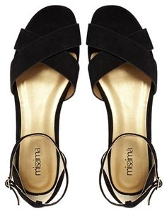 d3796a655214 Image 3 of Shoesissima Jay Suede Cross Over Flat Sandals  Available from UK  8-