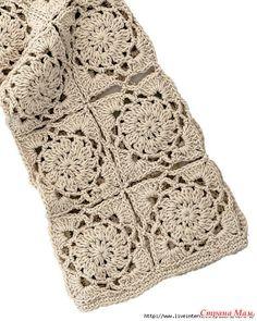 Ажурный жакет из квадратных мотивов. Крючок. Crochet Diagram, Filet Crochet, Knit Crochet, Crochet Patterns, Diy Pillows, Crochet Cardigan, Chrochet, Crochet Clothes, Handmade Crafts