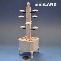 """The """"Olde Time"""" Store Miniature Quality Store Hat Rack Stand Dollhouse 1 12   eBay"""