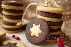 maślane-ciastka-z-gwiazdką Crazy Cakes, Sweet Treats, Food And Drink, Cooking Recipes, Cookies, Desserts, Blog, Baking Cookies, Wafer Cookies