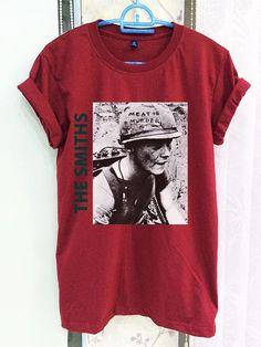 53c458e246 The Smiths Shirt Clothing Band Crimson Red Women Tshirt Tee Short Sleeve T- Shirt SMLXLXXL