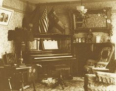 """""""Victorian parlor 1890's"""""""