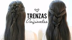 Peinados con trenzas originales
