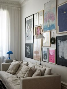 〚 Interesting Scandinavian design in building in Stockholm sqm) 〛 ◾ Photos ◾Ideas◾ Design New Living Room, Home And Living, Living Room Decor, Colorful Apartment, Interior And Exterior, Interior Design, Home Decor Bedroom, House Design, Decoration