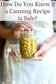 How Do You Know if a Canning Recipe is Safe - Melissa K. Pressure Canning Recipes, Canning Tips, Home Canning, Water Bath Canning, Homemade Sauce, Homemade Cheese, Home Food, Grow Your Own Food, Preserving Food