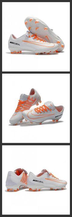 premium selection ef742 2721a Scarpe Da Calcio Nike Mercurial Vapor XI Tech Craft FG Bianco Arancione