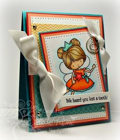 Created by Jessie Rone!  Tooth Fairy Approved clear stamps by Whimsie Doodles http://www.tsgstamps.com/Tooth_Fairy_Approved_p/197-12.htm