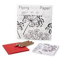 DANDELION FLYING WISH PAPER|UncommonGoods