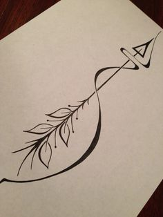 Beautiful, simple, arrow tattoo design. #mastectomy #breastcancer [p-ink.org]