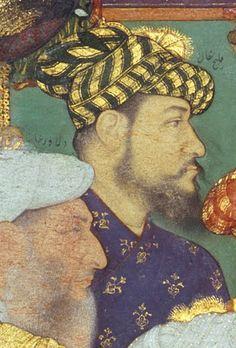 Kilich Khan Mughal Paintings, Islamic Paintings, Last Emperor, Miniature Paintings, Mughal Empire, Turbans, Miniture Things, Ancient Art, Indian Art