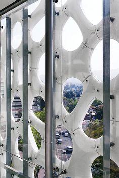 Architecture Elegant Embellishments Facade Hospital Manuel Gea Gonzales