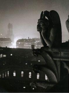 Brassaï. Notre Dame Gargoyle, Paris, 1932