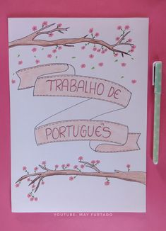 Beautiful Summer Scrapbook Ideas Capa Para Trabalhos Escolares Capa Para Bullet Journal Escuela throughout [keyword Lettering Tutorial, School Labels, Beautiful Notes, School Notebooks, Decorate Notebook, Borders For Paper, Creative Journal, Study Notes, Bullet Journal Inspiration