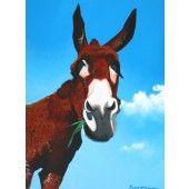 """Grassy Ass!"" Framed Art Prints, Fine Art Prints, Irish Landscape, Eclectic Style, Make You Smile, Landscape Paintings, Giraffe, Moose Art, Vibrant"