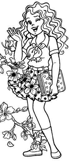 Pin Do A Mariana Matias Em Desenhos Para Pintar: Livro De Colorir Monica Jovem - Pesquisa Google