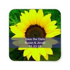 #floralsticker #flowersticker #daisy #savethedate #sunflower #flower $5.25 per sheet of 20