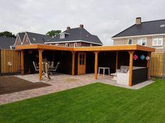 Hot Tub Backyard, Backyard Plan, Backyard Seating, Garden Seating, Backyard Patio, Diy Patio, Diy Outdoor Bar, Outdoor Rooms, Garden Nook