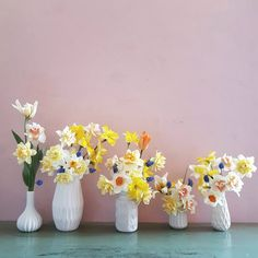 spring at the allotment - hilmala. Allotment, Vase, Spring, Flowers, Home Decor, Decoration Home, Room Decor, Vases, Royal Icing Flowers