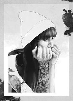 Scarlett Simoneit, Illustration, 2014 User Profile, Baseball Hats, Deviantart, Illustration, Inspiration, Dreams, Revenge, Woman, Biblical Inspiration