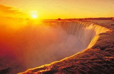 Dusk at Niagara Falls...can't wait to go for my birthday!!!!!!!!!