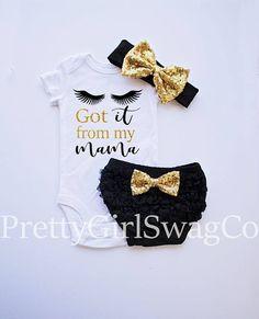 Baby Shower Gift Baby Girl Outfit Birthday Gift Newborn