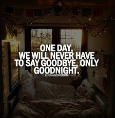"""Even though we were able to keep our relationship strong across the miles, I'm so glad we no longer have to say """"goodbye."""" We really do just get to now say """"goodnight."""""""