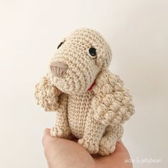 Made to Order SPANIEL crochet amigurumi Perro Cocker Spaniel, Spaniel Puppies, Half Double Crochet, Single Crochet, Crochet Animals, Crochet Toys, Tutorial Amigurumi, Amigurumi For Beginners, Yarn Dolls