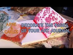 How to decorate the pages of your Art Journal – ARNE & CARLOS