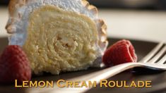 The Perfect Lemon Cream Roulade - Bruno Albouze - THE REAL DEAL
