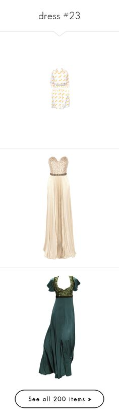 """""""dress #23"""" by bliznec-anna ❤ liked on Polyvore featuring dresses, gowns, vestidos, long dresses, strapless gown, pink sequin dresses, pink evening gowns, sequin gown, gowns green and green color dress"""