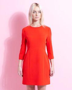red Lennon Courtney at Dunnes Stores Laura Mini Dress Fashion Over, Lace Dress, Short Dresses, Women Wear, Chiffon, High Neck Dress, Fancy, Elegant, Stylish
